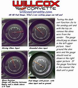 C2 Gas Gauge Temp Gauge Froze - Corvetteforum