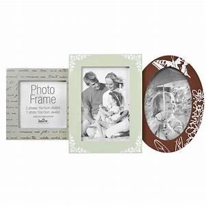 Cadre Photo Pele Mele Bois : cadre p le m le en bois pour 3 photos erica ~ Melissatoandfro.com Idées de Décoration