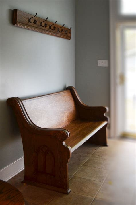 reclaimed church pew abodeacious