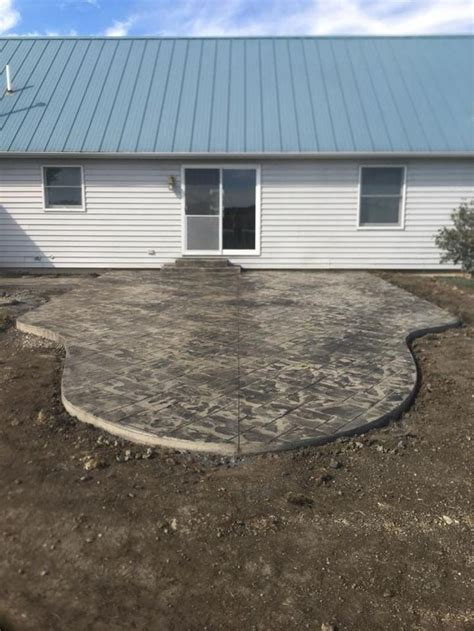 stained sted concrete patio minimalist best 25 concrete patio stain ideas on stain