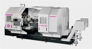 Tuscan Turret Ls-1000x1400 Heavy Duty Cnc Lathe