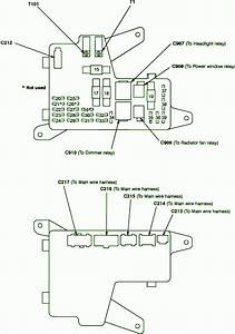 1992 Honda Accord Outside Fuse Box Diagram  U2013 Auto Fuse Box