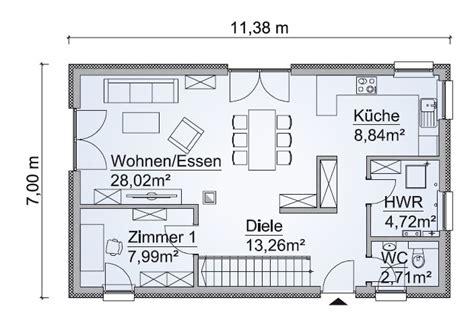 Haus 7m Breit by Fertighaus Sh 127 S