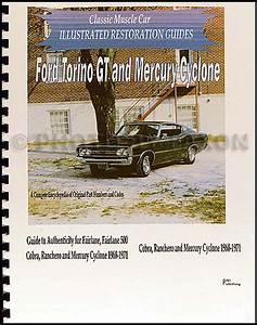 1969 Ford Wiring Diagram Original Falcon Fairlane Torino Ranchero Mercury Montego Cyclone Comet