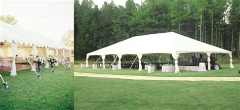 How To Hang Ceiling Drapes For Events by Large Frame Tent Rental Oconee Events
