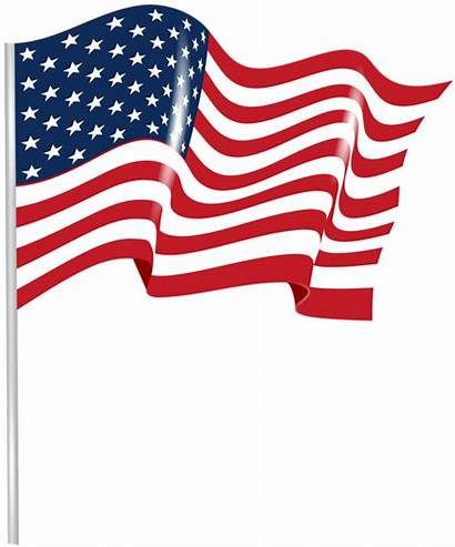Flag Transparent American Waving Clip Clipart America