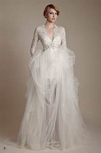 12 inspiring long sleeve wedding dresses for Long sleve wedding dress