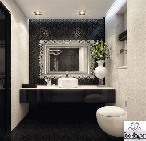 black white and bathroom decorating ideas 55 modern bathroom design trends 2017 bathroom