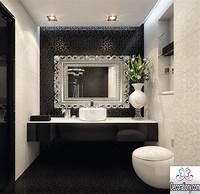 black and white bathroom decor 55 Modern Bathroom Design Trends 2017 | Bathroom