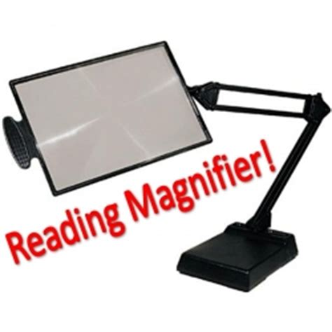 Bedroom Lamp by Magnifying Glass On Stand Stones Finds