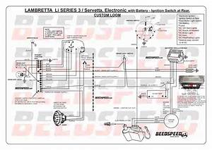 Lambretta Series 2 Electronic Ignition Wiring Diagram