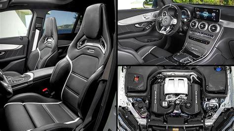 Rubellite red / obsidian black, exclusive nappa. 2020 Mercedes GLC SUV Models Interior
