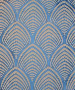 Papier Peint Art Deco : tissu edo th venon motif art deco 36 tissus pinterest ~ Dailycaller-alerts.com Idées de Décoration