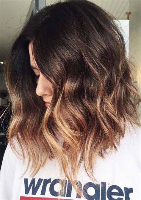 hair color styles 22 best balayage ombre hair color styles for 2018 modeshack