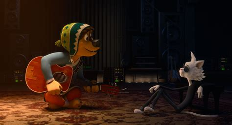Rock Dog Trailer Luke Wilson Voices A Rock Star Pup