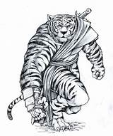 Tiger Sketch Pirate Warrior Draw Rengar Deviantart Skin Press Furry Coloring Concept Cat Needs Template Credit Larger Img15 sketch template