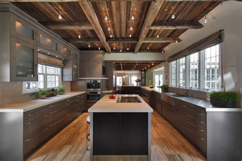 cuisine de luxe moderne defining elements of the modern rustic home