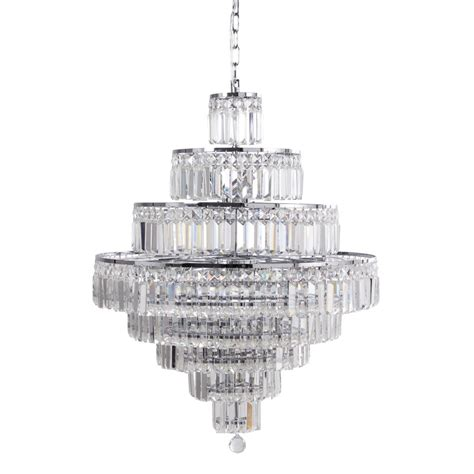 lustre 224 pilles en cristal pontivy maisons du monde