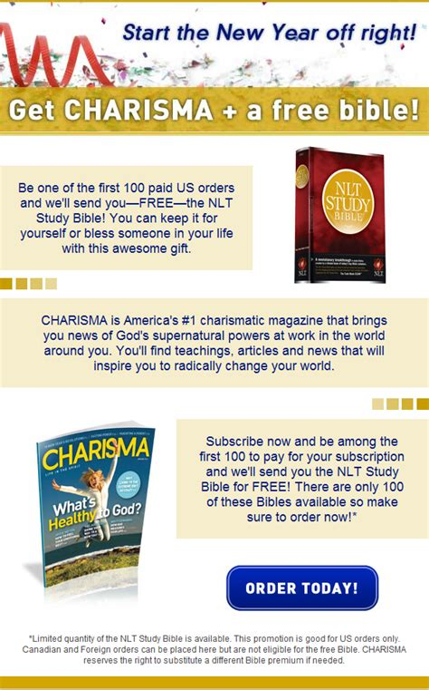 bookhelp cdsfulfillment new bible charisma for the new year
