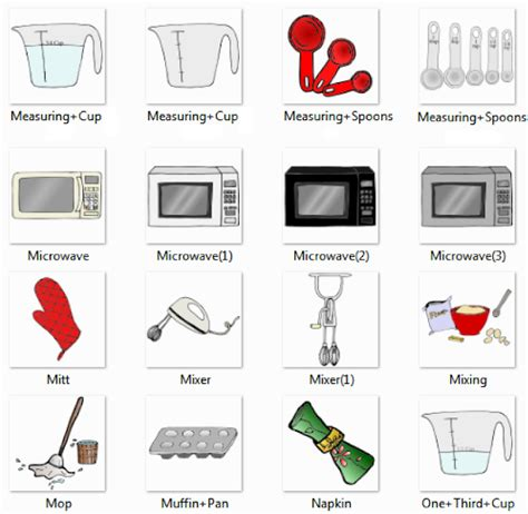 kitchen accessories names with pictures kitchen pictures and list of kitchen utensils with picture 7639