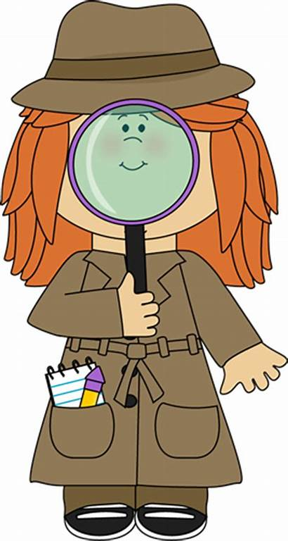 Magnifying Detective Glass Individual Brick Run Into