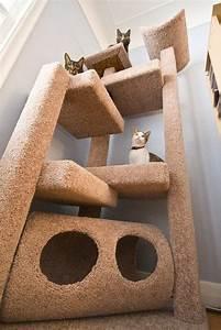 Arbre A Chat Moderne : l 39 arbre chat un terrain d 39 aventures et de repos pour votre ami ~ Melissatoandfro.com Idées de Décoration
