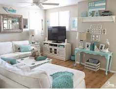 Small Beach House Decorating Ideas Easy Breezy Living In An Aqua Blue Cottage Blue Interiors Beaches