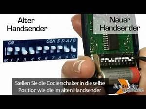Hörmann Handsender Programmieren Probleme : wie programmiert man eine fernbedienung mit codierschalter youtube ~ Eleganceandgraceweddings.com Haus und Dekorationen