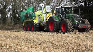 Slurry Spreading With Pichon Tri-axle