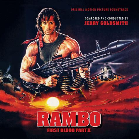 rambo  blood part ii cd original motion picture