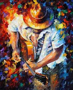 Leonid Afremov, oil on canvas, palette knife, buy original