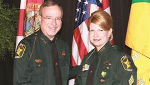 Polk State's Shea Receives Sheriff's Office Service Medal ...