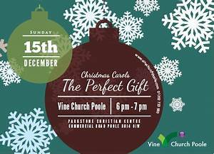 Christmas Carol Service Flyer Church Pinterest