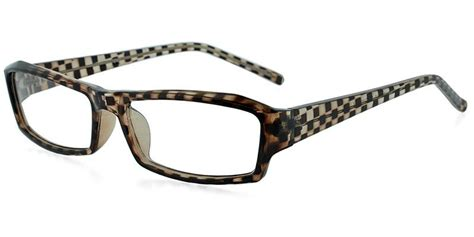 Comet Brown Prescription Eyeglasses