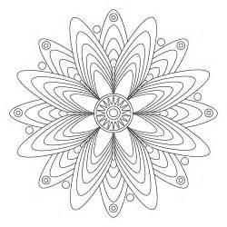 8 X 10 Free Printable Mandala Coloring Pages