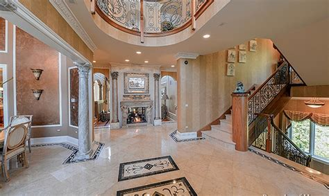 square foot stone stucco mansion  naperville