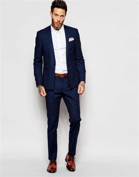 costume bleu chaussure marron chaussure marron costume bleu marine