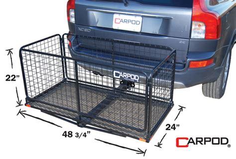 coat rack carpod cargo carrier basket hitch basket cargo carrier