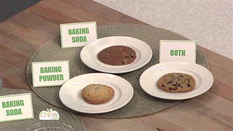 baking powder vs baking soda baking soda vs baking powder the chew youtube