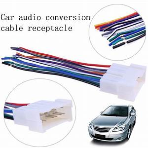 130mm  5 12 U0026quot  Car Stereo Cd Player Wiring Harness Wire