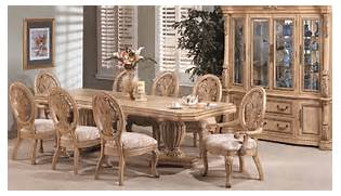 Antique Tuscan Formal Dining Room Dining Room Furniture Set Valencia Formal Dining Room