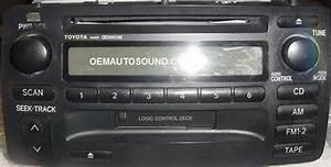 Toyota Corolla Radio 86120