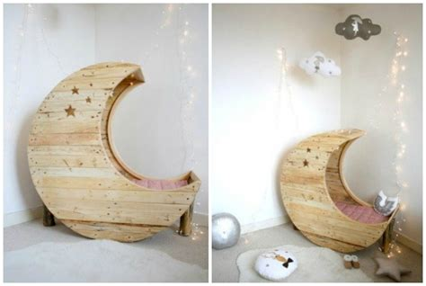 diy moon  baby cradle crib picture instructions