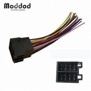 Aliexpress Com   Buy Universal Iso Radio Wire Wiring Harness For Volkswagen Citroen Audi Ford