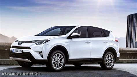 2019 Toyota Rav4 Review Model, Release Date And Price