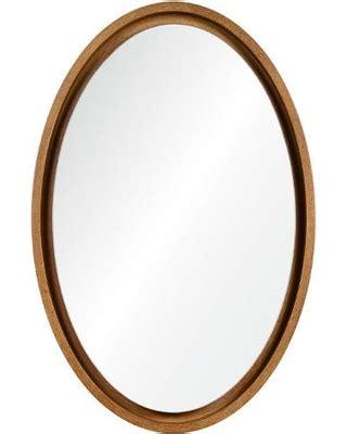 deal alert   magnus oval wall mirror  floating