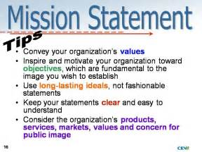 Mission Statement Exles by Vision Mission Statements Career And Technical