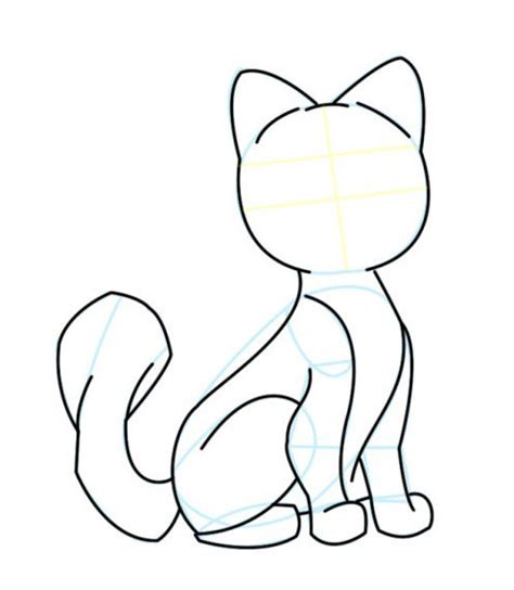 drawing  cartoon cat feltmagnet