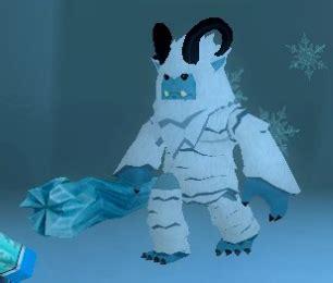 legendary yeti monster islands roblox wiki fandom
