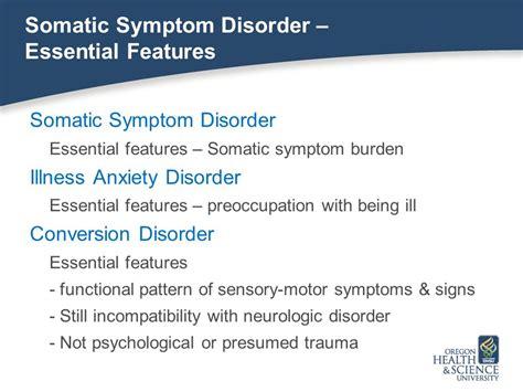 Somatic Symptom Disorder In Primary Care Setting